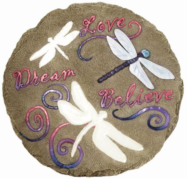 Love dream believe Dargonfly Glow