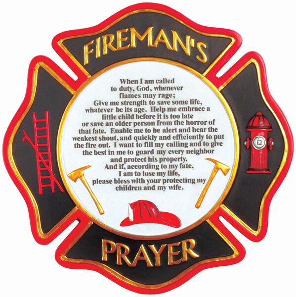 Firemans Prayer Stone